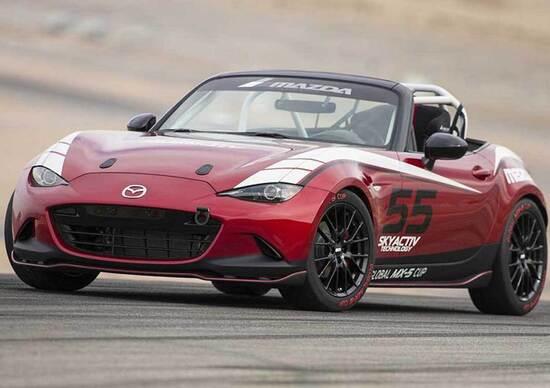 Nuova Mazda MX-5: la versione da corsa fa sul serio. Anche in Europa