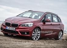 BMW Serie 2 Active Tourer xDrive: ora anche con trazione integrale