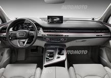 Nuova Audi Q7: l'abitacolo è una sala da concerto. Ecco l'Hi-Fi da 1.920 Watt