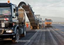 L'Italia ricicla solo il 20% dell'asfalto. «Evidentemente preferiamo le discariche»