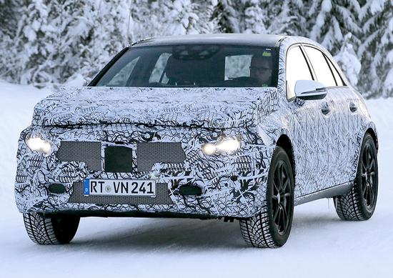 Nuova Mercedes GLA 2020: le prime foto spia