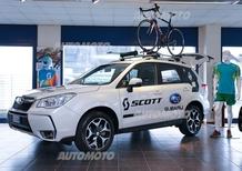 Subaru pedala con Scott: tre anni di partnership in Italia