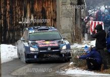 WRC Montecarlo: Volkswagen in fuga. Loeb è fuori dai giochi