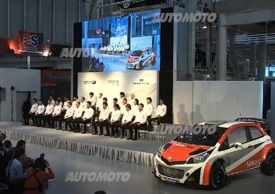 Toyota: nel 2017 tornerà nel Mondiale Rally. L'annuncio in diretta mondiale