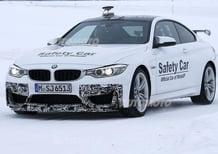 BMW M4 GTS: spyshot in Lapponia