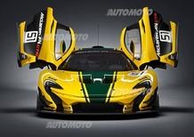 McLaren P1 GTR: ecco il mostro ibrido da 1.000 CV. Ma solo per la pista