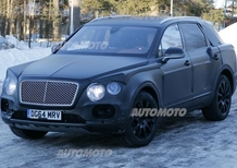 Bentley Bentayga: ecco gli spyshot del SUV inglese
