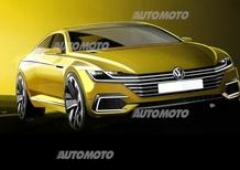 Volkswagen Sport Coupé Concept GTE: le prime immagini