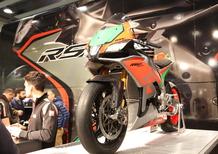 Moto Guzzi e Aprilia al Motor Bike Expo