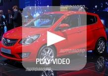 Paola Trotta: «Opel Karl, è compatta ma davvero spaziosa»