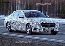 Nuova Mercedes Classe E: una Classe C... più grande!