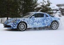 Avvistata la nuova Alpine durante i test