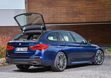Nuova BMW Serie 5 Touring 2017: spazio alla bavarese al Salone di Ginevra 2017 [Video]