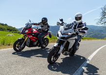 BMW S1000XR vs Ducati Multistrada 1200S