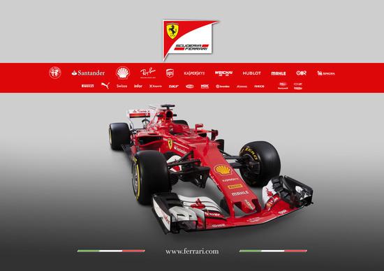 Formula 1 2017: Ferrari presenta la SF70H
