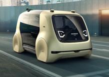 Volkswagen Sedric, concept autonoma al Salone di Ginevra 2017