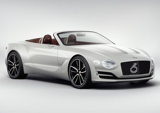 Bentley EXP12 Speed 6e Concept, la spider elettrica al Salone di Ginevra 2017