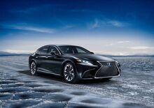 Lexus LS 500h, l'ammiraglia ibrida al Salone di Ginevra 2017 [Video]