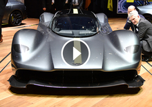 Aston Martin Valkyrie, la videorecensione al Salone di Ginevra 2017 [Video]