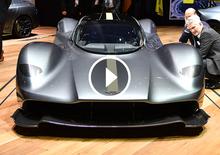 Aston Martin Valkyrie, la videorecensione al Salone di Ginevra 2017 [Video]