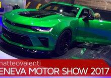 Chevrolet Camaro Track Concept, la videorecensione al Salone di Ginevra 2017 [Video]