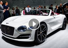 Bentley EXP12 Speed 6e, la videorecensione al Salone di Ginevra [Video]