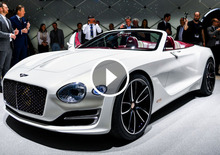 Bentley EXP12 Speed 6e, la videorecensione al Salone di Ginevra [Video]