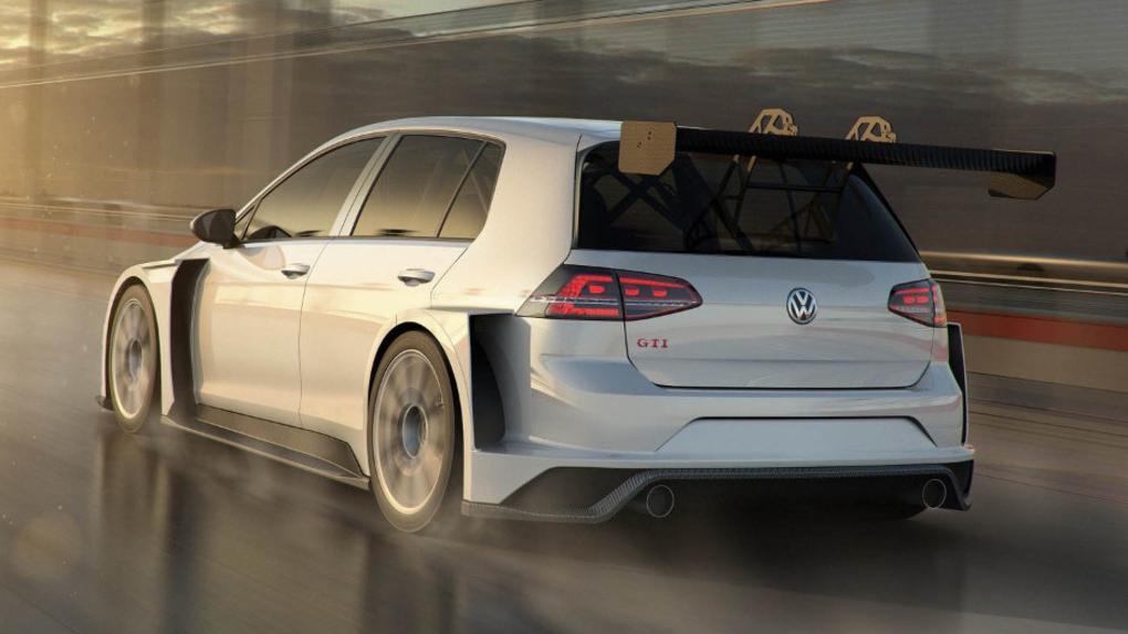 Volkswagen Golf GTI TCR 2017, la potenza sale a 350 CV (3)