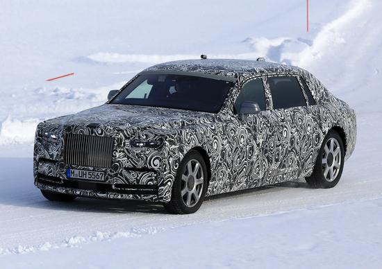 La nuova Rolls-Royce Phantom è in arrivo