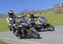 Honda Crossrunner vs Yamaha Tracer