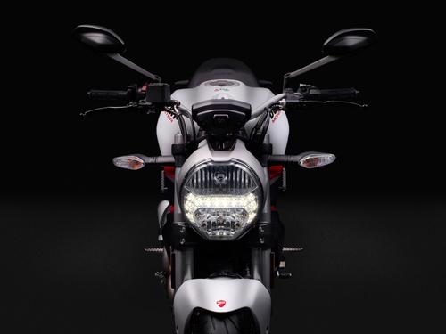 Il faro a profilo tondo, con luce di posizione a LED