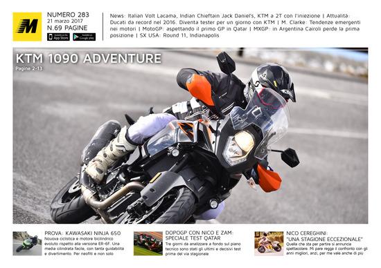 Magazine n°283, scarica e leggi il meglio di Moto.it