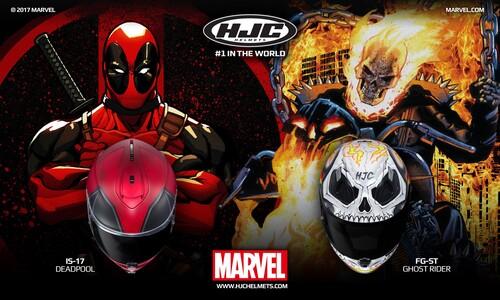 Deadpool e Ghost Rider by HJC (3)