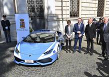 Lamborghini Huracán, oggi la consegna alla Polizia