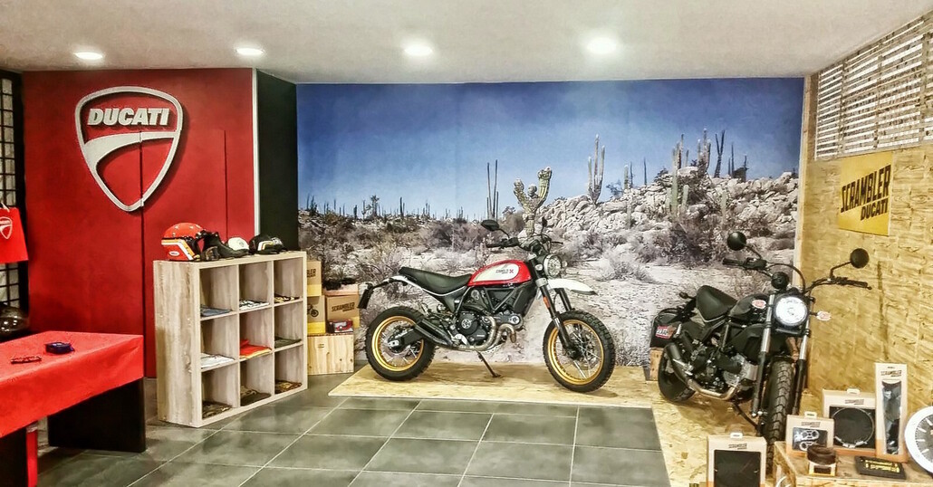 Ducati Service Appia: nuova location e showroom ampliato