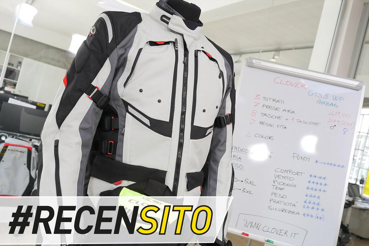 Clover GTS-3 WP Airbag. Recensione giacca 4 stagioni - Accessori - Moto.it 0dc369f77f24