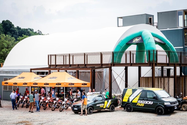 A Maggiora la prima pista di moto elettriche KTM