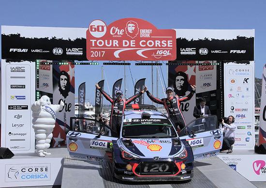 WRC17 Tour de Corse. L'ora di Neuville e di Hyundai