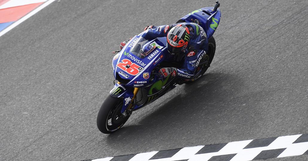 MotoGP 2017. Vinales vince il GP d'Argentina, Rossi 2°