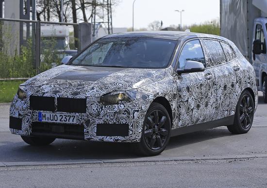 Nuova BMW Serie 1: prime immagini