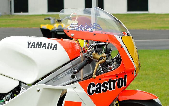 La pompa radiale montata sulla YZR 500 OW-81 con cui Lawson ha vinto il titolo 1986 (foto Motorcycle Daily)