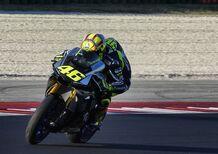 Rossi e l'Academy VR46 in pista a Misano prima di Indianapolis