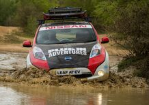 Nissan Leaf AT-EV, alla conquista del Mongol Rally 2017 [Video]