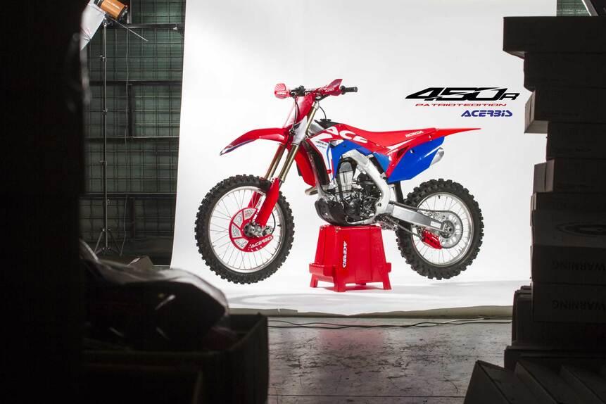 Acerbis: full kit e plastic kit Patriot per Honda CRF450R (2)