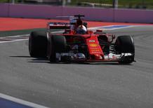 F1, GP Russia 2017: pole per Vettel. Secondo Raikkonen
