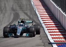 F1, GP Russia 2017, Bottas: «Che battaglia con la Ferrari»