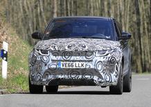 Range Rover Evoque: le foto spia